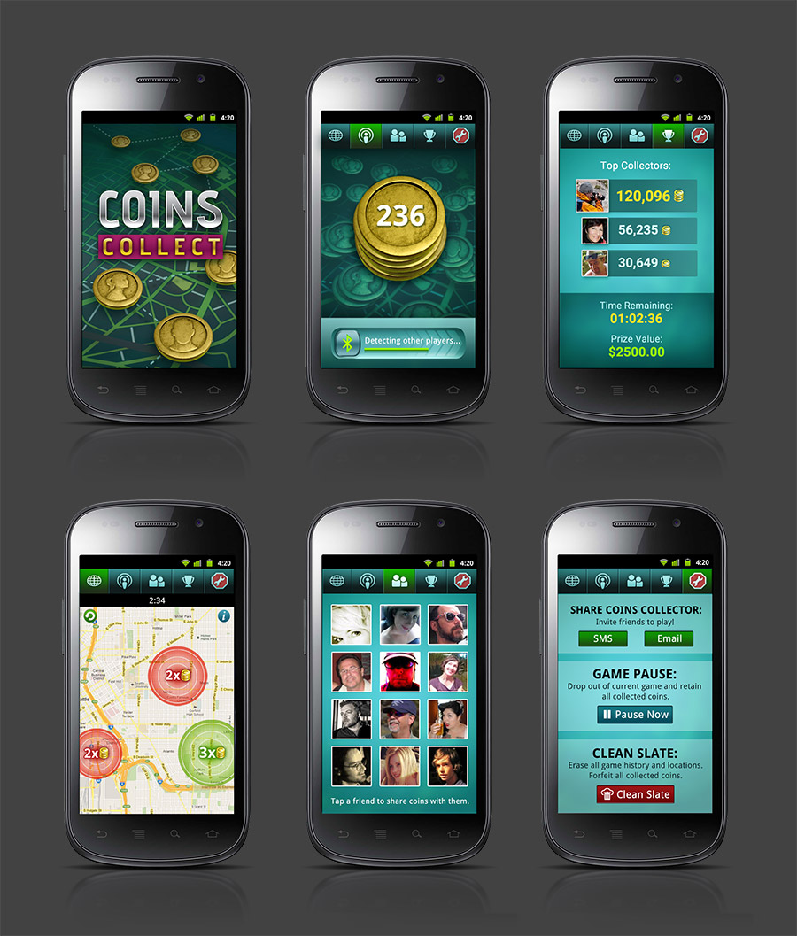 Coins Collect app