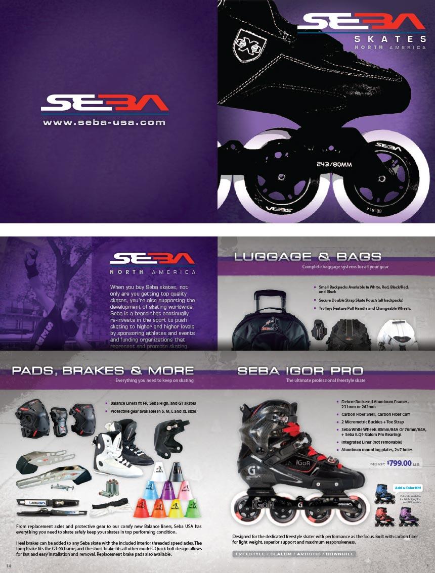 Seba Skates 2012 Catalog
