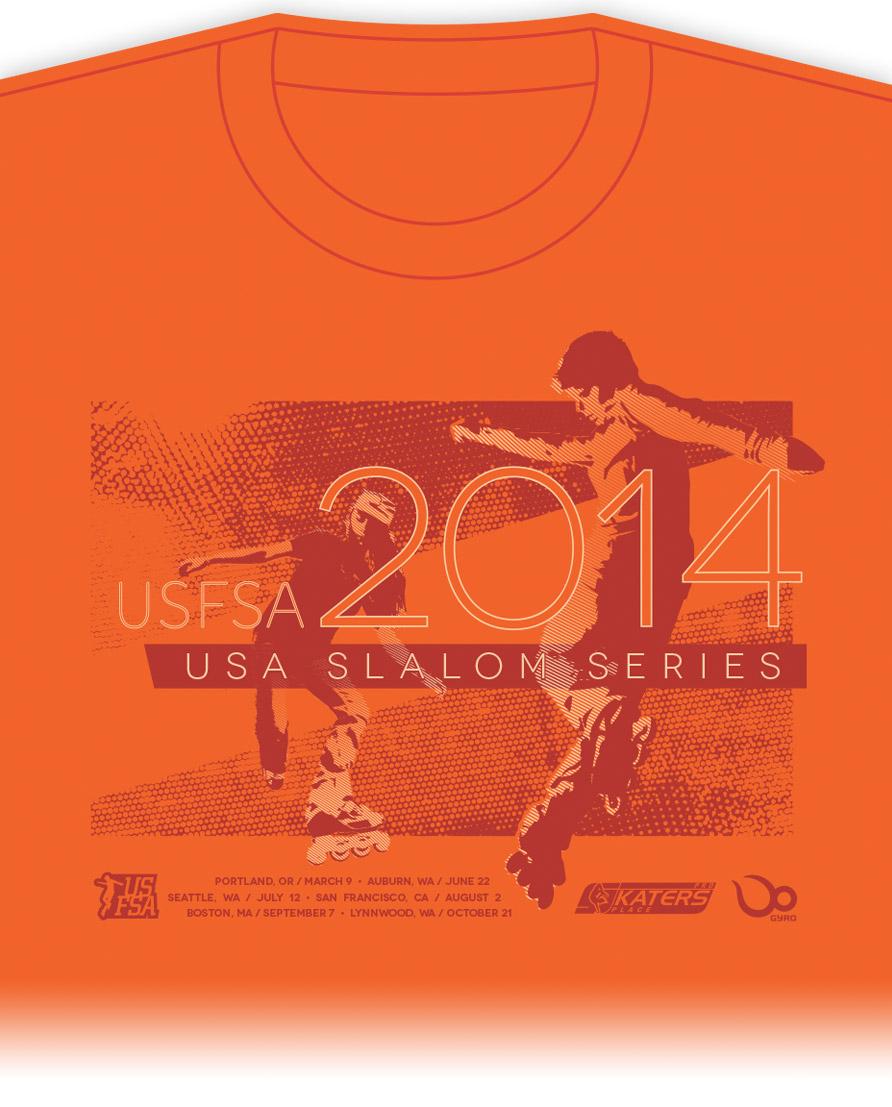 USFSA Tshirt design