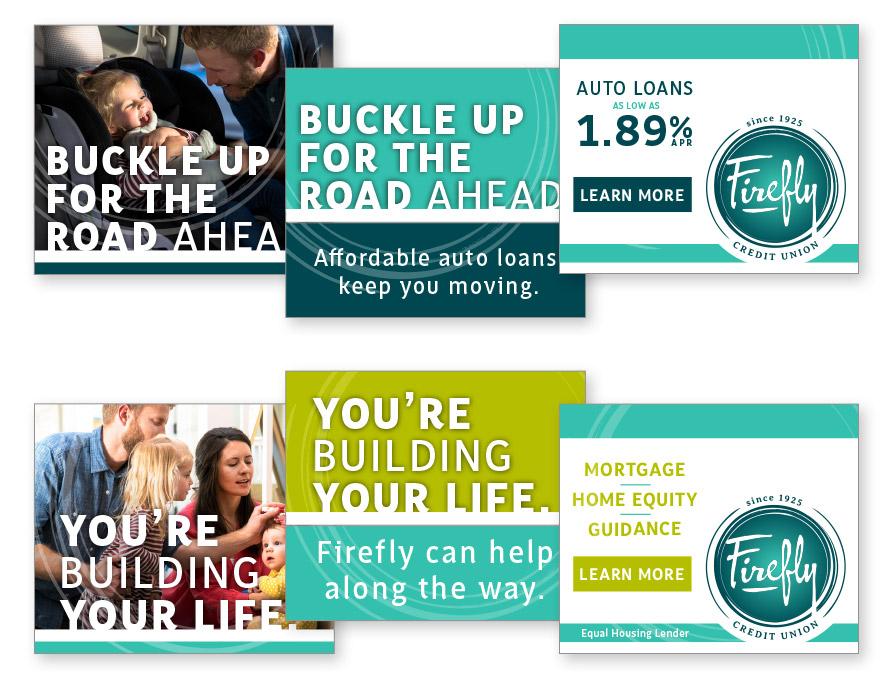 Firefly Credit Union Ads