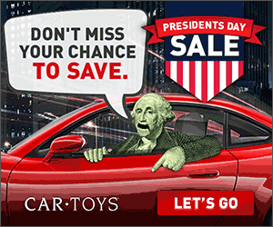 Car Toys Presidents Day